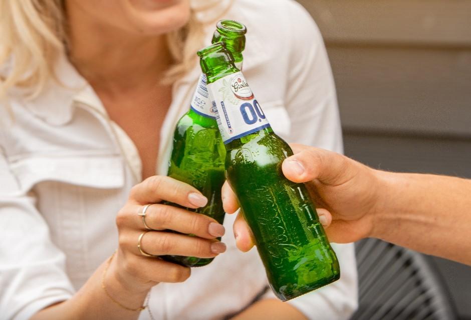 100% bier, 0% alcohol