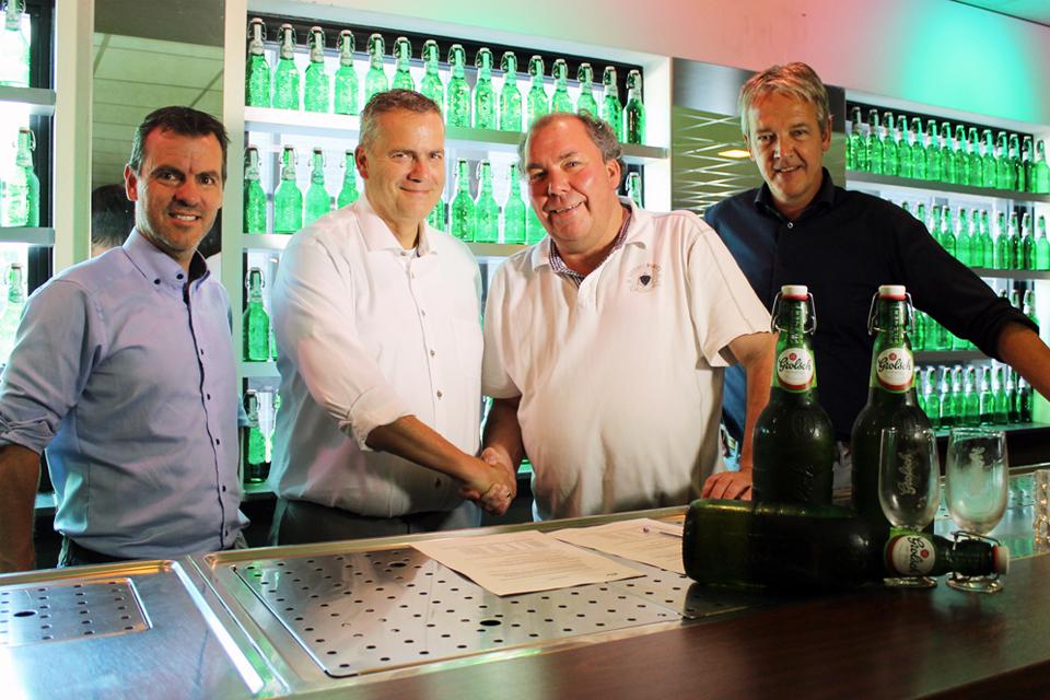 Grolsch verlengt sponsorschap bij De Graafschap