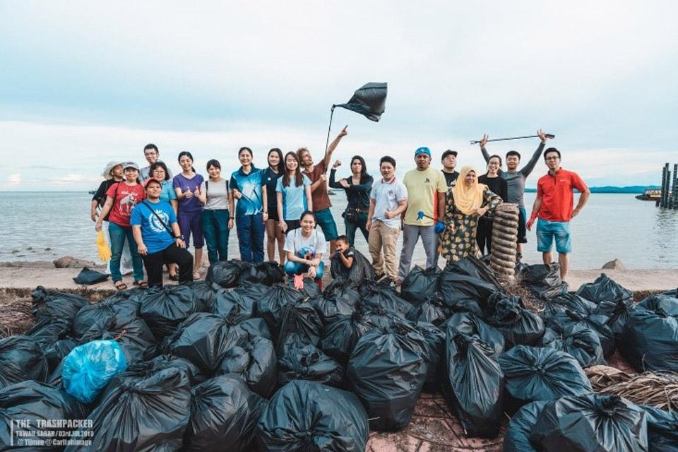 Samen op weg naar 100.000 volle vuilniszakken