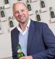 Ard Bossema nieuwe Marketing & Strategie directeur Koninklijke Grolsch