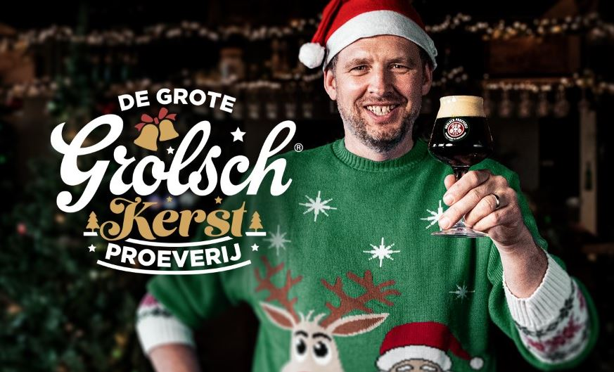 Grolsch sluit bijzonder jaar af met grootse bierproeverij