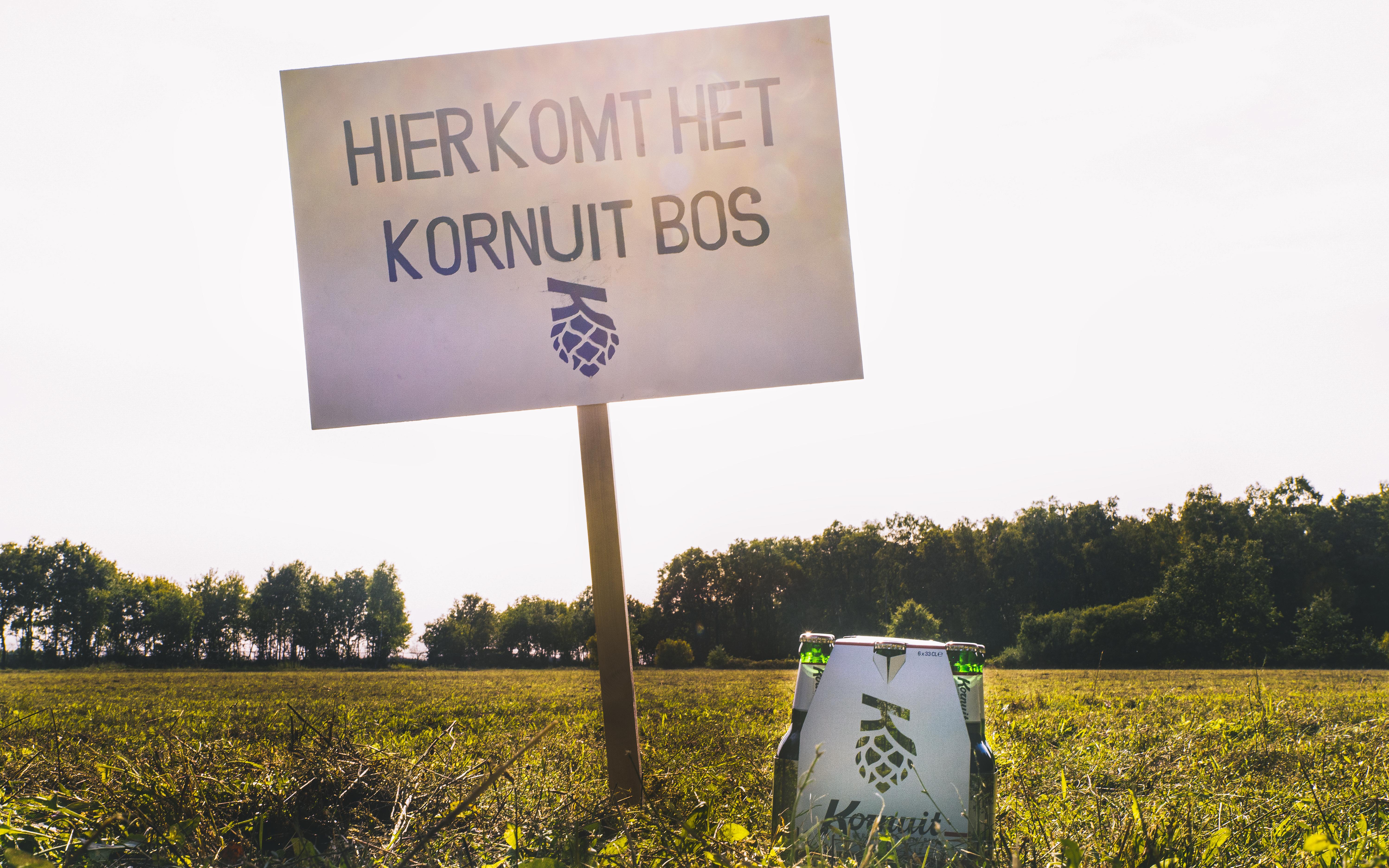 Koninklijke Grolsch en Landschap Overijssel planten samen toekomstbestendig Kornuit Bos