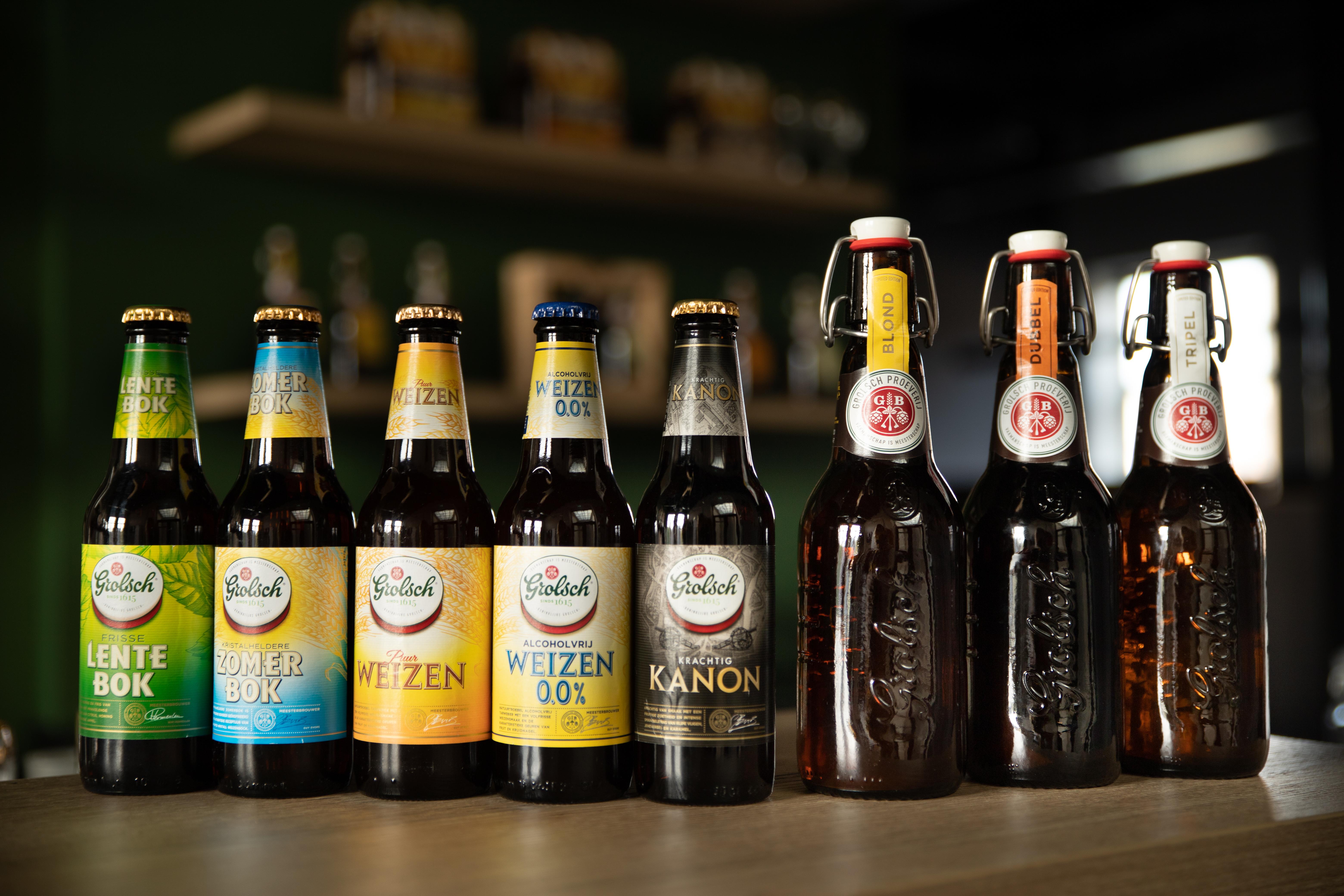 Grolsch Speciaalbieren acht keer in de prijzen bij de World Beer Awards
