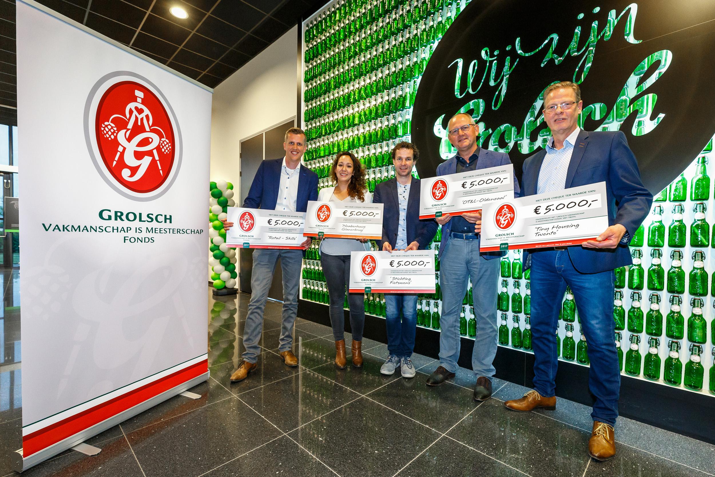 Mooie mix van sociale en economische initiatieven tijdens Grolsch Vakmanschap en Meesterschap Fonds avond