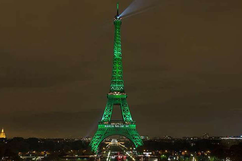 Klimaatakkoord Parijs